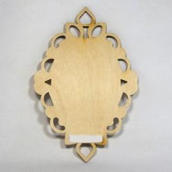 Sagoma legno Ovale