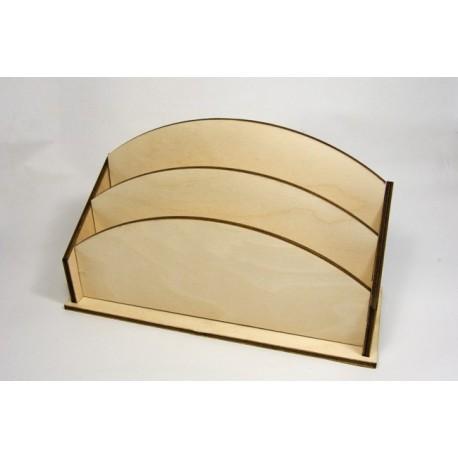 Portacarte in legno