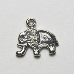 """Pendente """"Elefantino"""" con strass"""