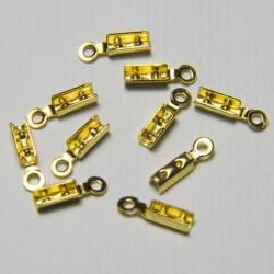 Terminale cordoni 8mm Oro