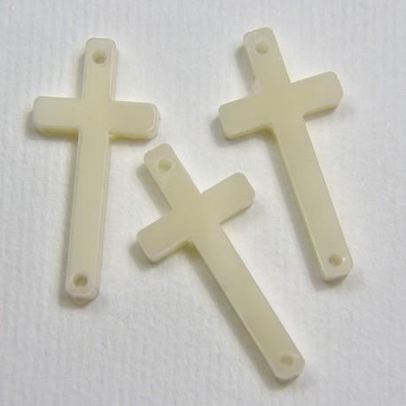 Croce in plex Avorio