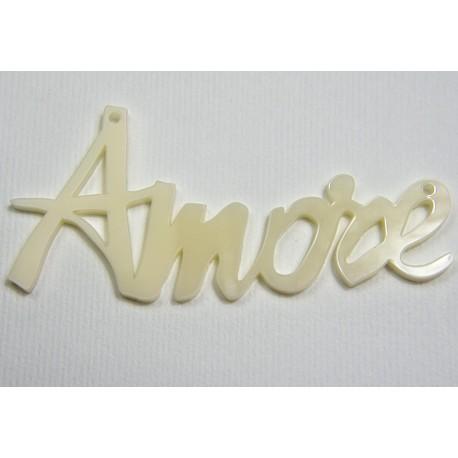 "Scritta ""Amore"" in plex"