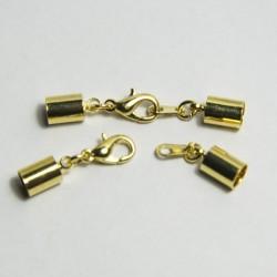 Gancio completo 5mm dorato