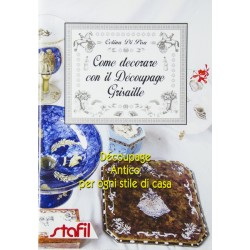 Come decorare con il decoupage Grisaille