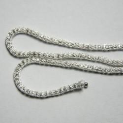 Catena Rullet diamantata colore argento