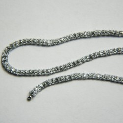 Catena Rullet diamantata colore Grigio