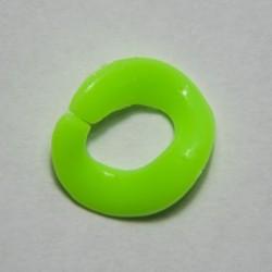 """Anello in plastica """"Verde Fluo"""""""