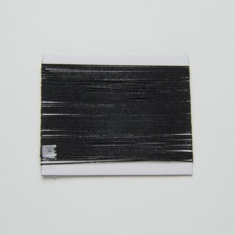 Cordoncino elastico Nero 1mm