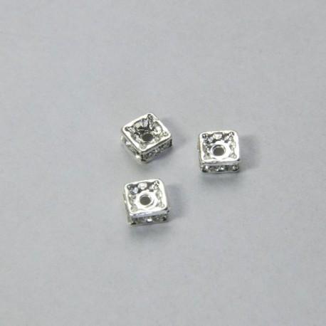 Rondella Strass quadrata 4.5mm