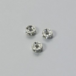 Rondella Strass tonda 4.5mm