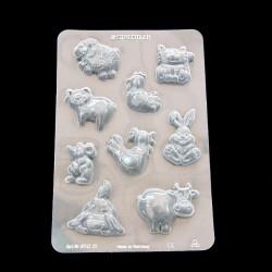 Clay mould Farm Animals