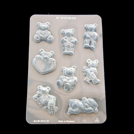 Clay mould Little Bears