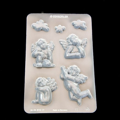 Clay mould Angels