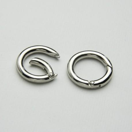 Anello apribile 18mm colore Argento