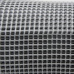 Rete plastica colore Argento