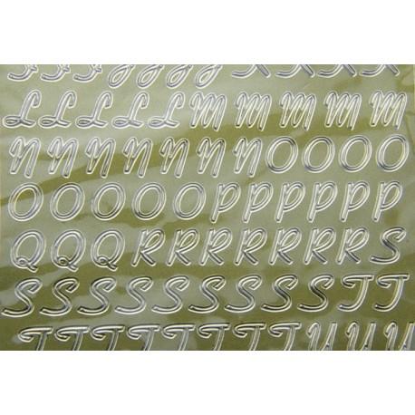 Stickers lettere dorate