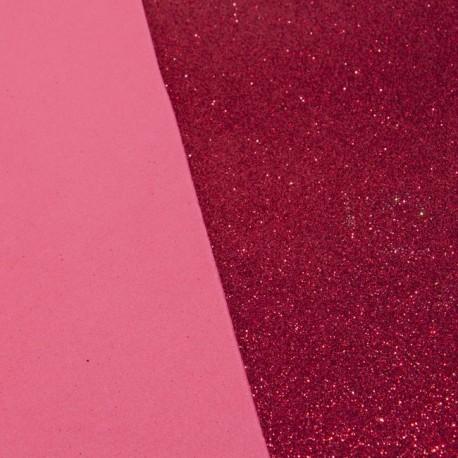 Moosgummi Glitter 20x30Cm