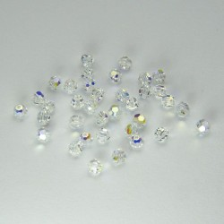 Pallina Crystal 4mm AB