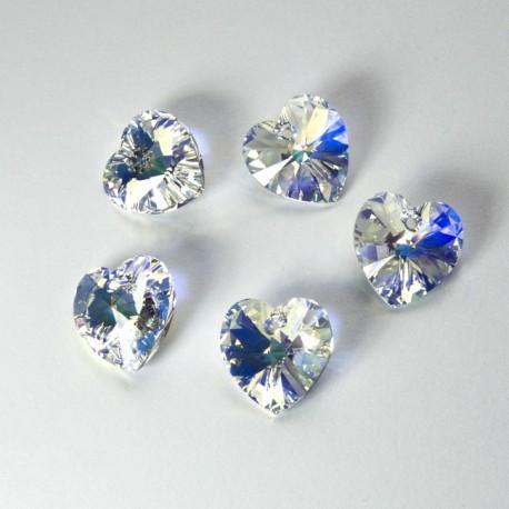 Cuore Swarovski Crystal 14mm AB