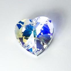 Cuore Swarovski Crystal 28mm AB