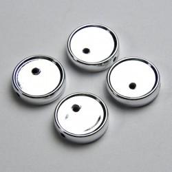 Portacabochon 14mm colore argento
