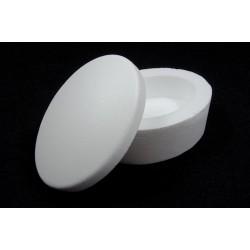 Scatola ovale di polistirolo