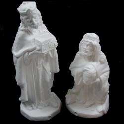 Gaspare e Baldassarre in polistirolo