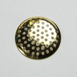 Retina microforata dorata 24mm