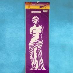 """Mascherina stencil """"Statua"""""""