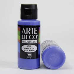 """Colore acrilico Fluorescente """"Blu"""""""