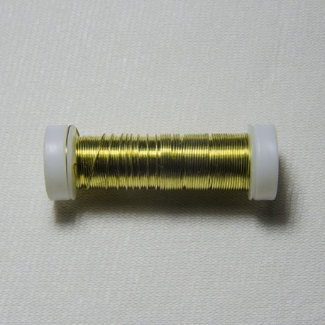 """Filo di ferro """"Oro"""" 0.5mm"""