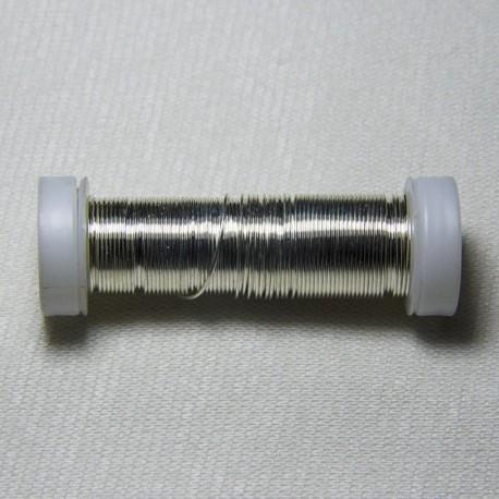 """Filo di ferro """"Argento"""" 0.5mm"""