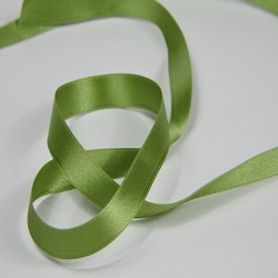 "Doppio raso 15mm ""Verde"""