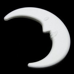 Luna di polistirolo 25Cm