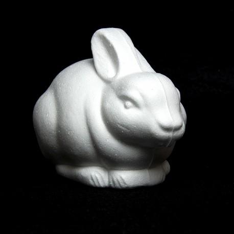 Coniglio piccolo di polistirolo