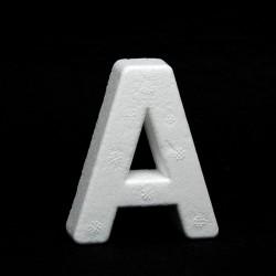 """Lettera """"A"""" di polistirolo"""