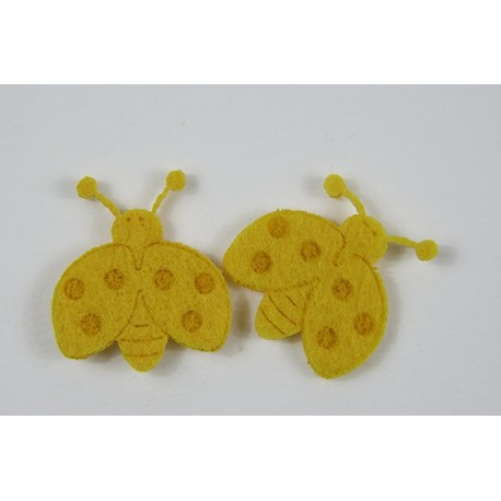 Set coccinelle adesive