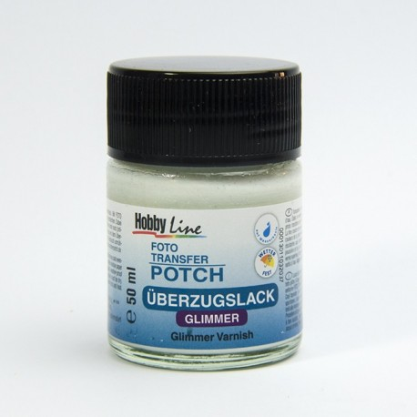 Foto Transfer Potch lacca glitter
