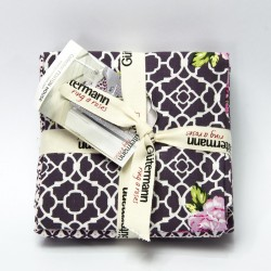 "Set fat quarter ""Fenton House"" Col.1"