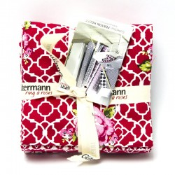 "Set fat quarter ""Fenton House"" Col.3"