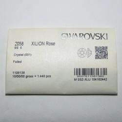 Swarovski Flatback SS5 Crystal