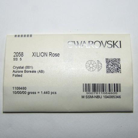 Swarovski Flatback SS5 Crystal AB