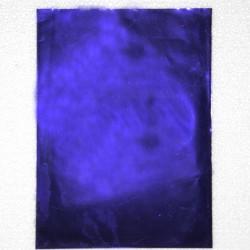 Busta metallizzata Blu