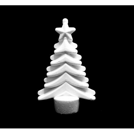 Albero di Natale da appendere in polistirolo