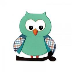 "Fustella BigZ ""OWL"" by Lori Whitlock"