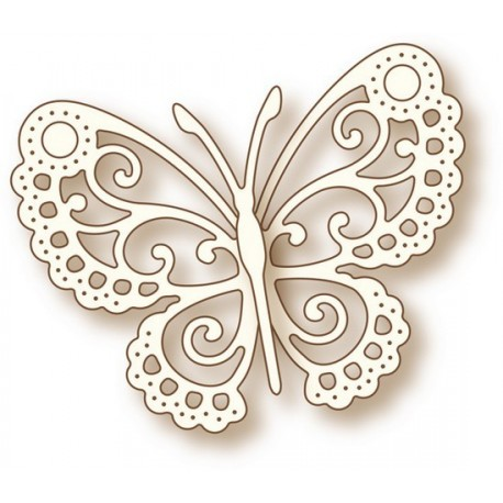 """Fustella Thinlits """" Butterfly Lace"""""""