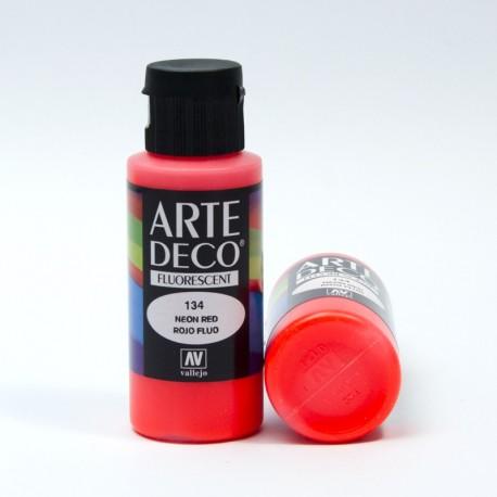 Colore acrilico Fluorescente Rosso