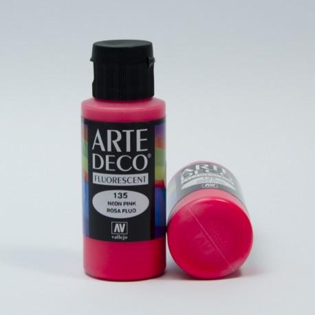 Colore acrilico Fluorescente Rosa