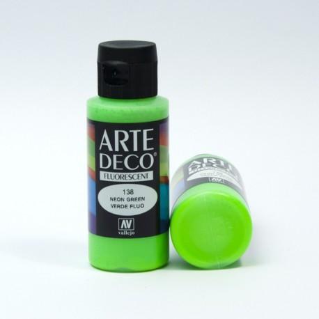 Colore acrilico Fluorescente Verde