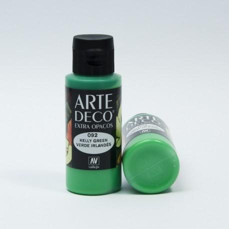 Colore acrilico opaco Verde Irlandese